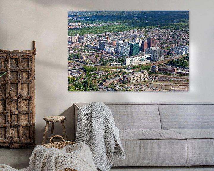 Sfeerimpressie: Luchtfoto Bezuidenhout Den Haag van Anton de Zeeuw