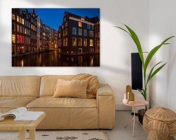 Die schwimmenden Häuser von Amsterdam von Sabine Wagner