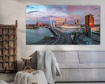 cruiseseizoen gestart in Rotterdam panorama von Midi010 Fotografie