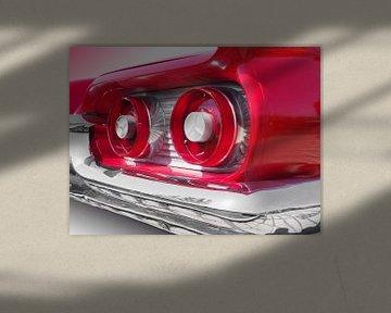 Amerikaanse klassieke auto's Thunderbird 1959 van Beate Gube