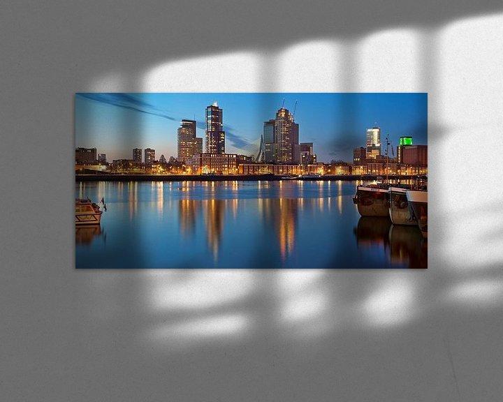 Sfeerimpressie: Maashaven / Katendrecht / Kop van Zuid / Rotterdam van Rob de Voogd / zzapback