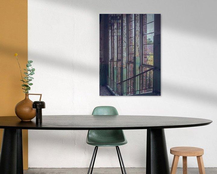 Beispiel: Verlassene Orte: vertikale Fenster von Olaf Kramer