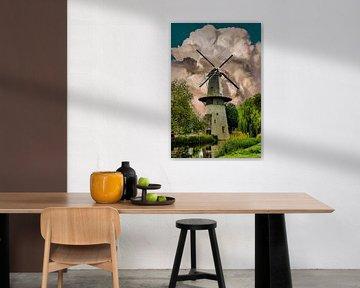 Mill, Schiedam, The Netherlands van Maarten Kost