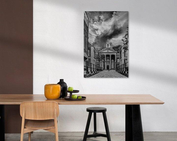 Beispiel: Black/White, Schiedam, The Netherlands von Maarten Kost