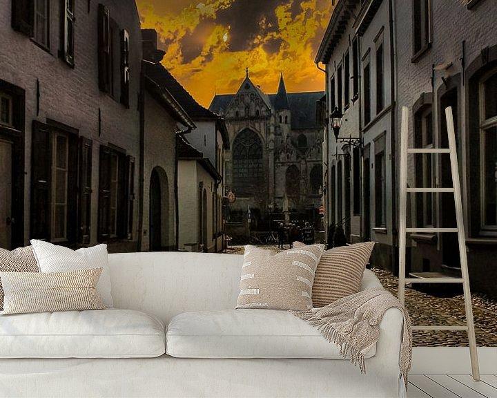 Beispiel fototapete: Afternoon, Thorn, Limburg,The Netherlands von Maarten Kost