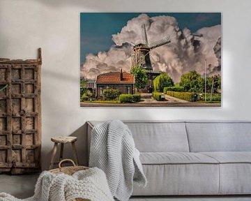 Mill,Arkel, Niederlande von Maarten Kost