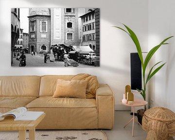 Italiaans straat beeld 50s van Jaap Ros