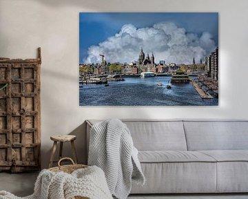 Wolken, Amsterdam, Niederlande von Maarten Kost