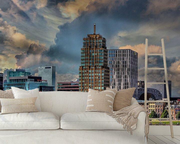 Beispiel fototapete: Rotterdam, Niederlande von Maarten Kost