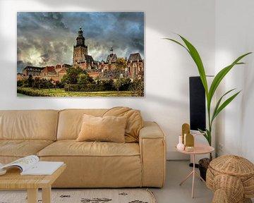 Wolken, Zutphen, Niederlande von Maarten Kost