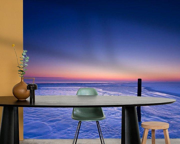 Impression: Blue sunrise sur robert wierenga
