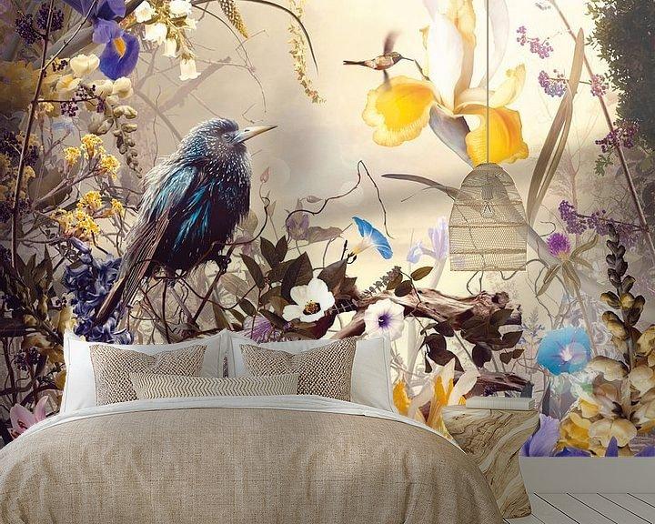 Sfeerimpressie behang: Virtùs van Jesper Krijgsman