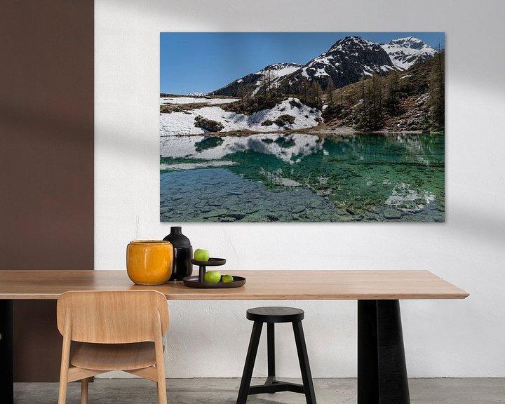 Sfeerimpressie: Lac Bleu, Zwitserland van Ingrid Aanen