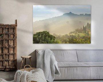 Toscaans landschap (Italië) sur Kaj Hendriks
