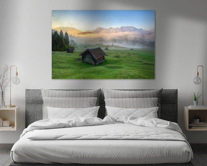 Beispiel: Nebel am Geroldsee von Michael Valjak