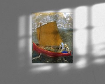 La Voile jaune (The Yellow Sail), Odilon Redon