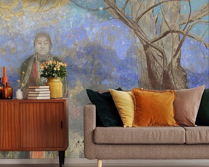 Beispiel fototapete: Buddha, Odilon Redon