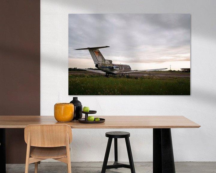 Beispiel: Verlassenes Flugzeug im Zerfall. von Roman Robroek