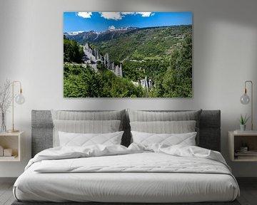 De aardpiramides van Euseigne, Zwitserland