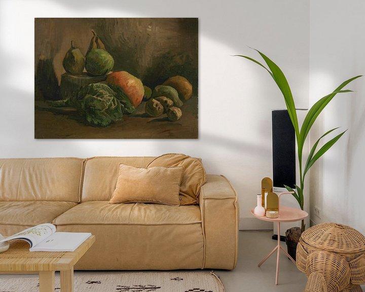 Beispiel: Still Life with Vegetables and Fruit, Vincent van Gogh