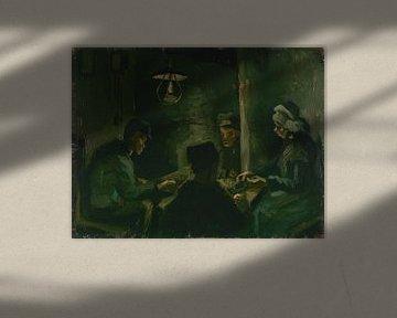 Studie voor 'De aardappeleters', Vincent van Gogh