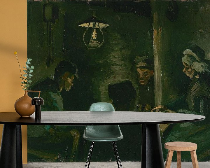 Beispiel fototapete: Study for 'The Potato Eaters', Vincent van Gogh