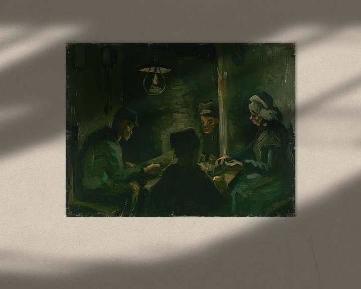 Beispiel: Study for 'The Potato Eaters', Vincent van Gogh
