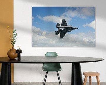 F35 jet in the Sky
