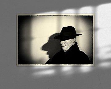 Man met hoed von Pauline Aalfs