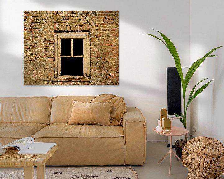 Beispiel: Oud vervallen raam von Martine Moens