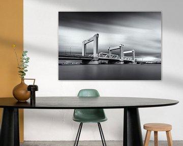 Nieuwe Botlekbrug Rotterdam von Niels Dam