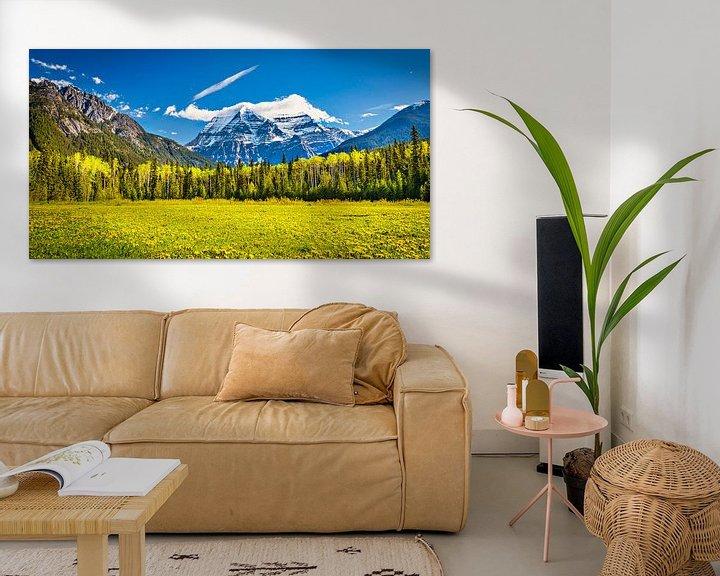 Sfeerimpressie: Mount Robson, British Columbia, Canada van Rietje Bulthuis