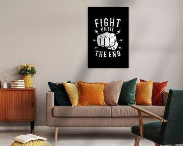 Boxing Kämpfer von Felix Brönnimann