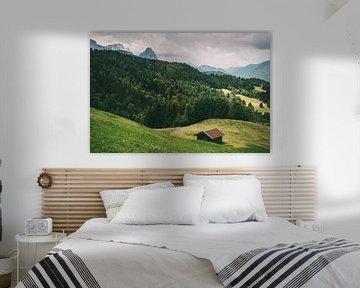Deutsche Alpenlandschaft sur Patrycja Polechonska