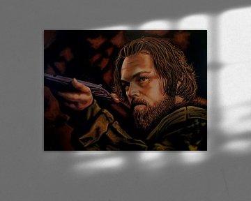Leonardo DiCaprio Malerei von Paul Meijering