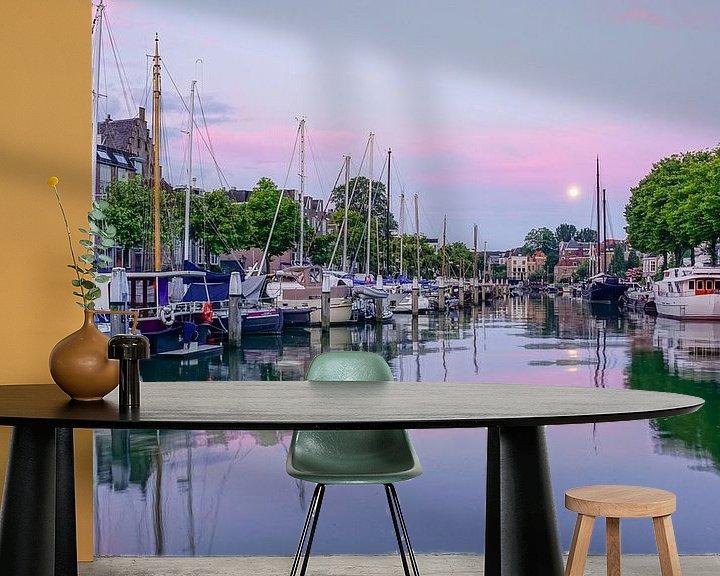Beispiel fototapete: Dordrecht am Wijnhaven von Dirk van Egmond