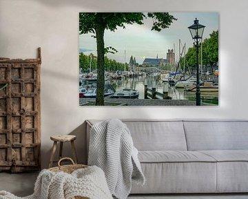 Dordrecht am Nieuwe Haven von Dirk van Egmond