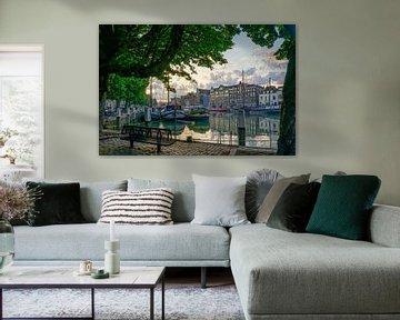 Wolwevershaven in Dordrecht von Dirk van Egmond