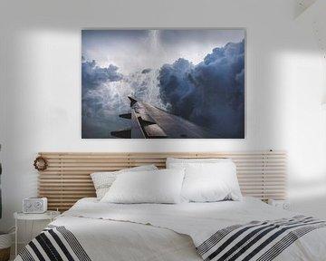 Fliegen - Reisen - Natur - Sturm von Felix Brönnimann