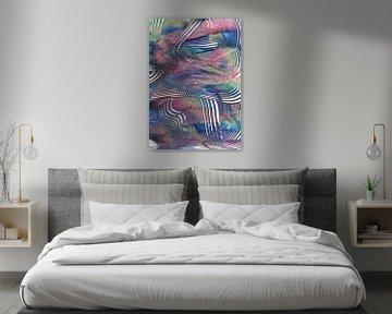Gekleurde spiralen von Bethina de Reus