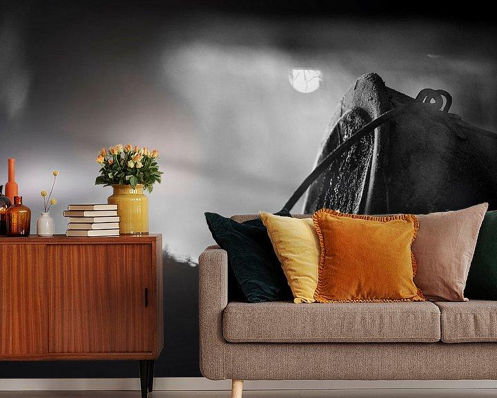 Sfeerimpressie behang: Old Farm #1 van Cristel Brouwer