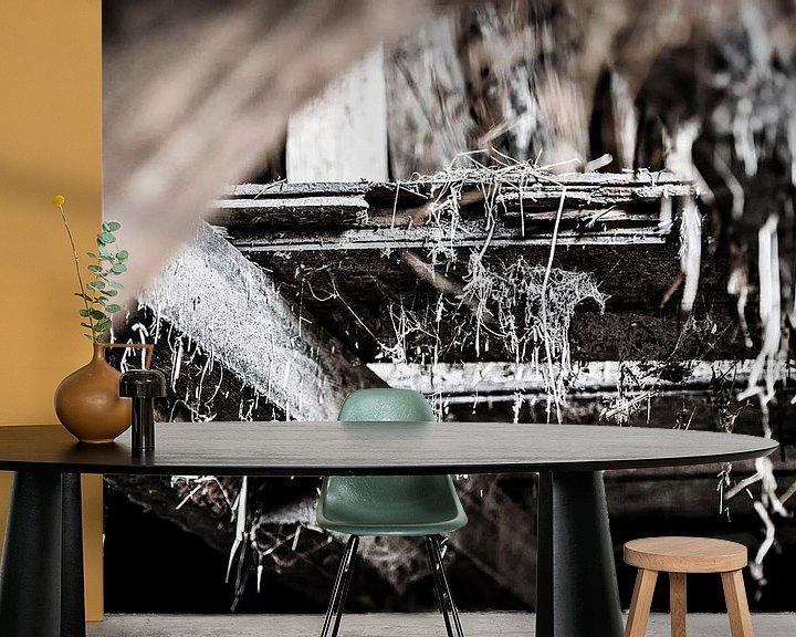 Sfeerimpressie behang: Old Farm #4 van Cristel Brouwer