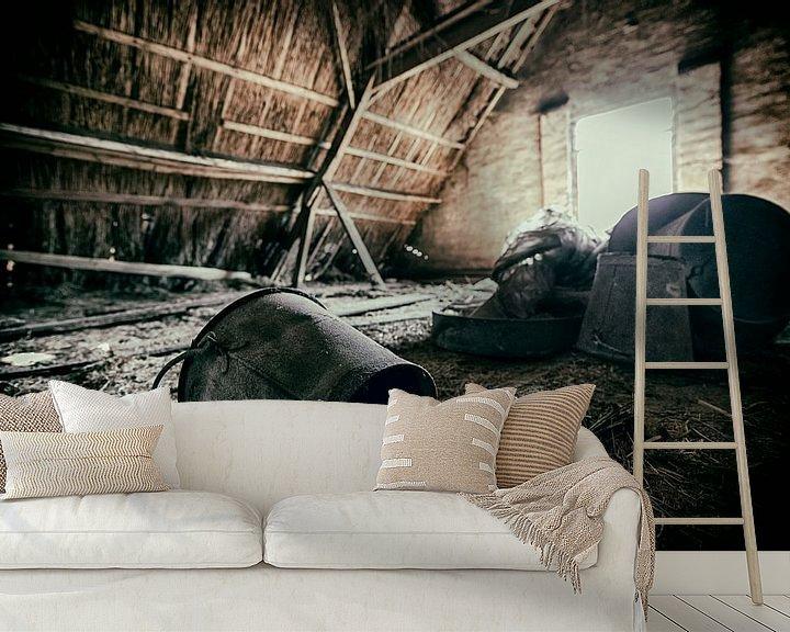 Sfeerimpressie behang: Old Farm #6 van Cristel Brouwer