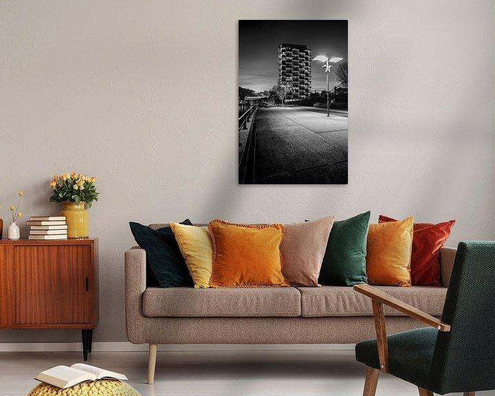 Impression: la K-Tower à Courtrai, Belgique sur Fotografie Krist / Top Foto Vlaanderen