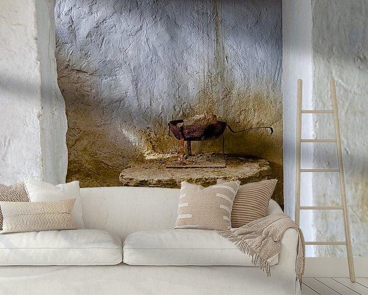 Beispiel fototapete: Spanien - Altes Höhleninnenhaus Arguedas von Hannie Kassenaar