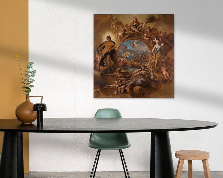 Beispiel: Allegory of Spring, Nicolaes Pietersz Berchem