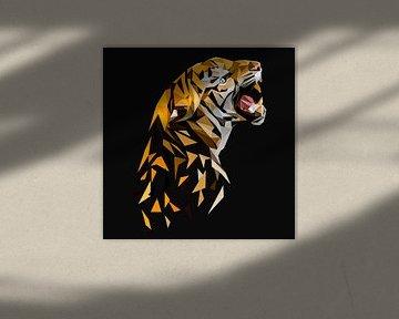 Cooles Tiger Poster von Felix Brönnimann