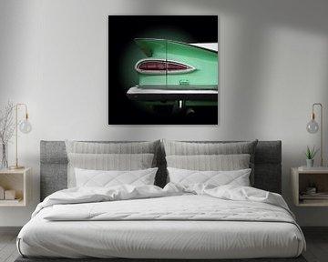 Amerikaanse klassieke auto's el camino 1959 van Beate Gube