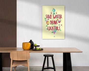 Alkohol Fun - Save Water drink Cocktails von Felix Brönnimann
