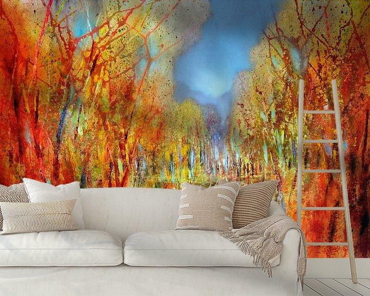Beispiel fototapete: Bunt sind schon die Wälder von Annette Schmucker